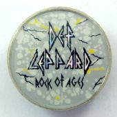Def Leppard - 'Rock of Ages' Prismatic Crystal Badge